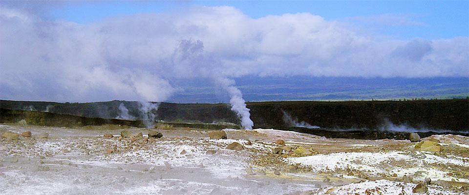 Kilawea Steaming